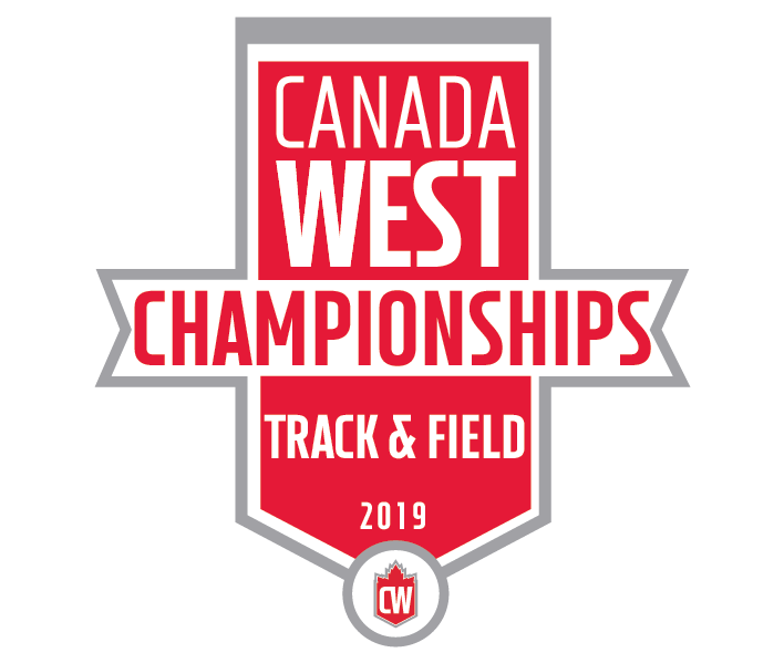 2019 Canada West Championships logo